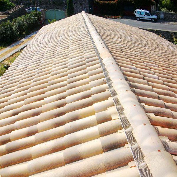 Couverture toiture tuile cévennes