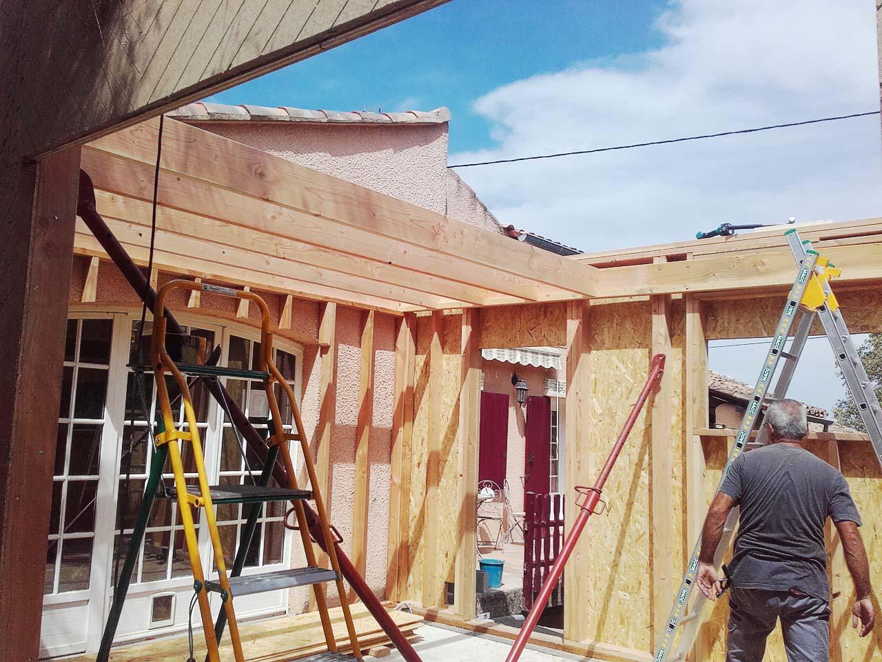 Isolation ext rieure enduit al s boiseco construction maisons a ossature - Isolation exterieure enduit ...