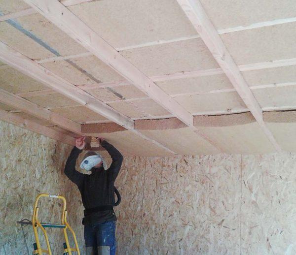 Isolation plafond Boisset et Gaujac