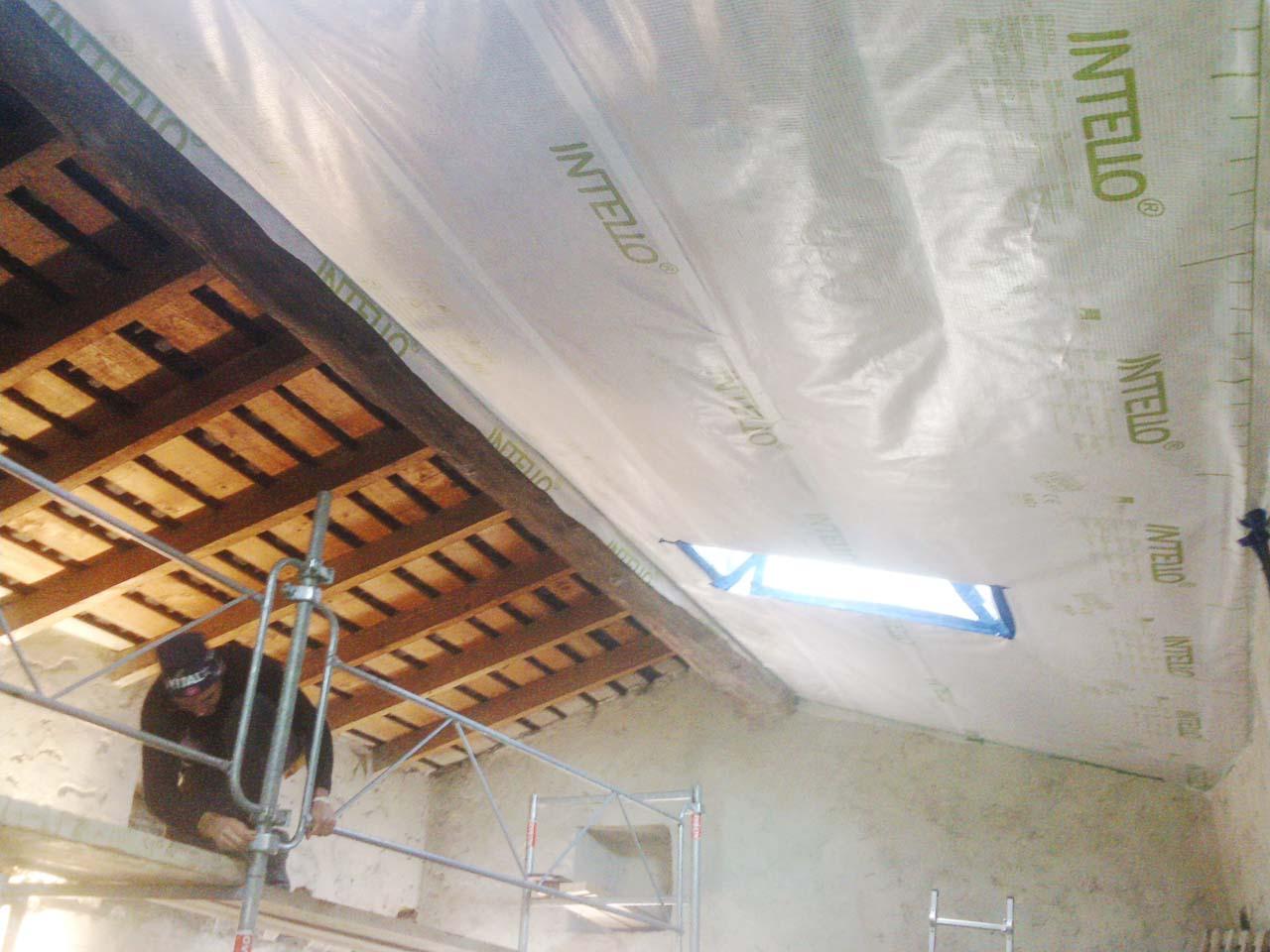 isolation sous comble cardet boiseco construction maisons a ossature bois. Black Bedroom Furniture Sets. Home Design Ideas
