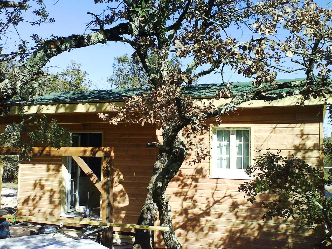 maison en bois uzes
