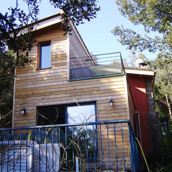 Maison Ossature Bois - Extension - Corbès