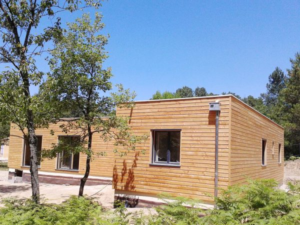 Maison Ossature Bois Avantage. Affordable Maison Avec Bardage Bois