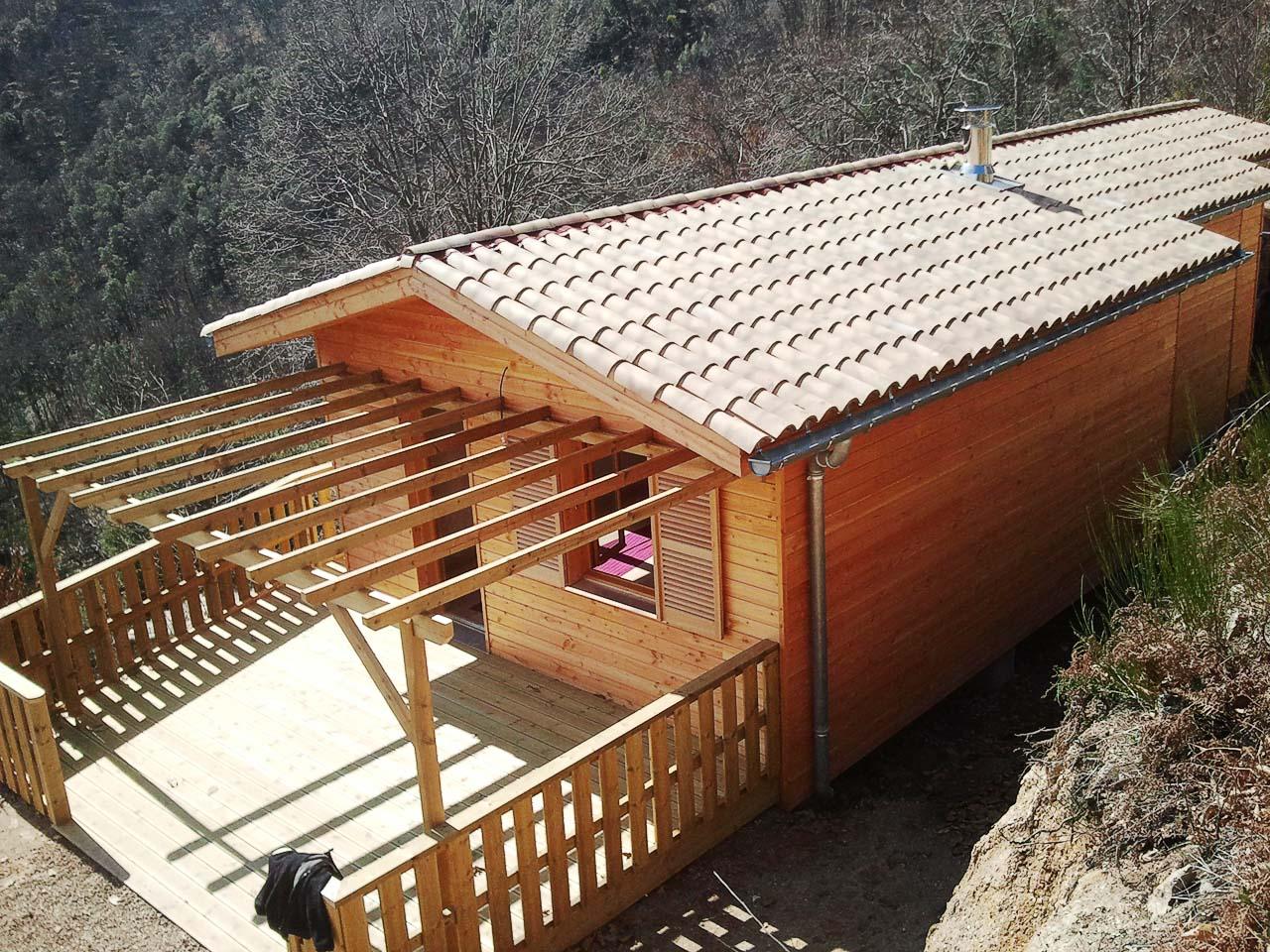 Construction en bois al s boiseco construction maisons a ossature bois for Construction en bois details