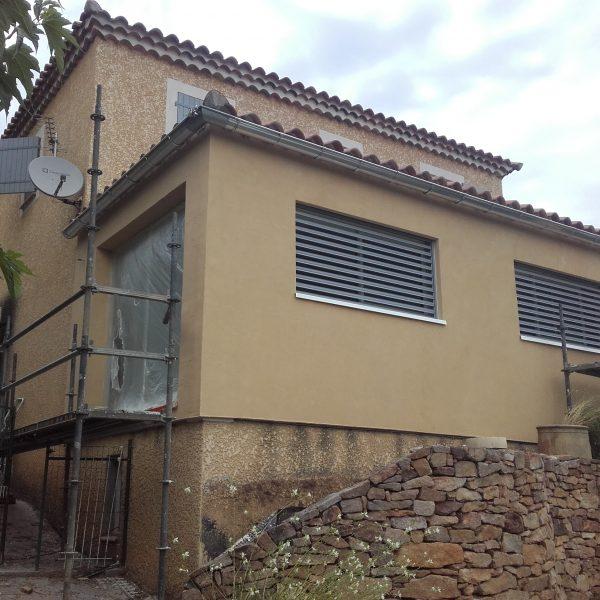 Extension Terrasse Cevennes