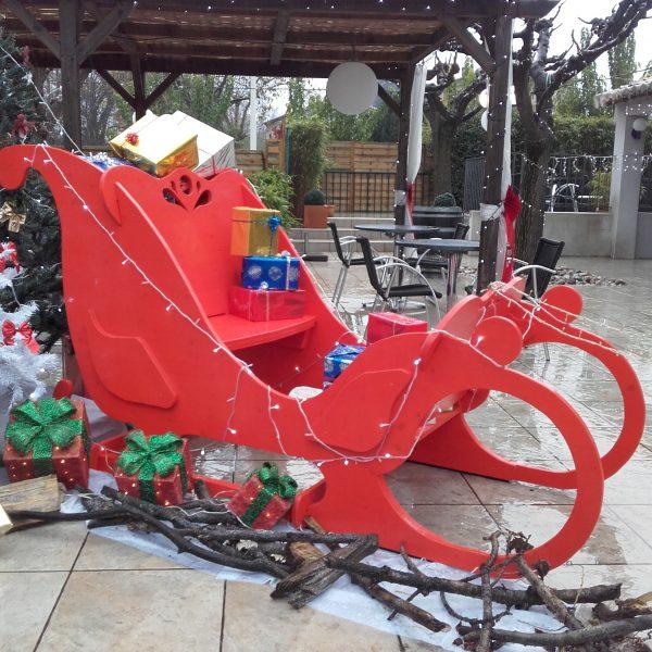 Traineaux Du Père Noël