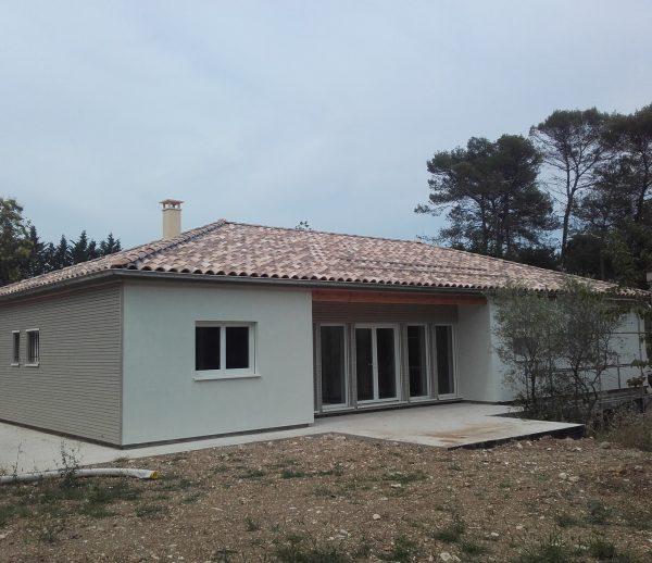 Maison  bois Alès