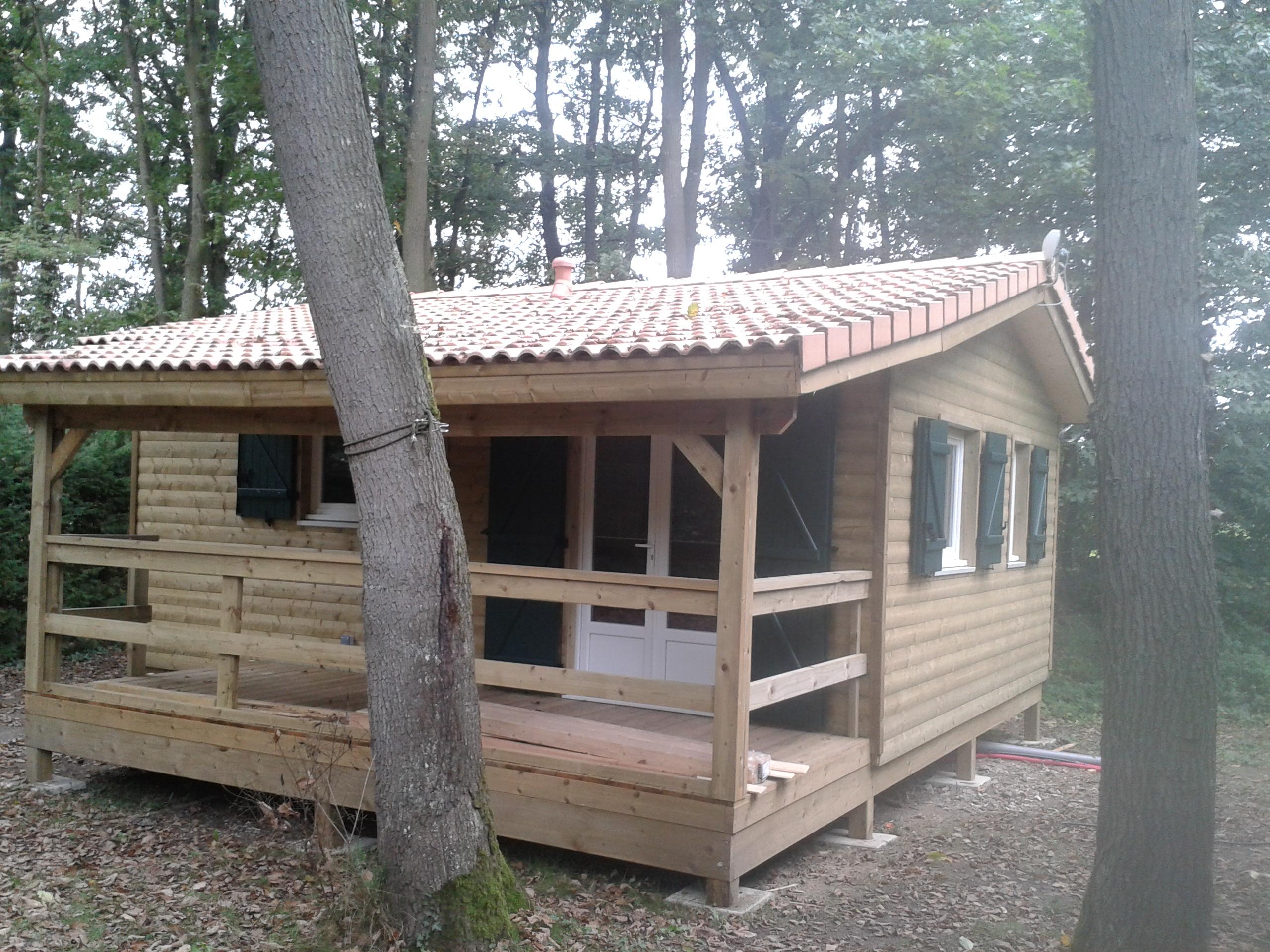 chalet de loisir hll boiseco construction maisons a ossature bois. Black Bedroom Furniture Sets. Home Design Ideas