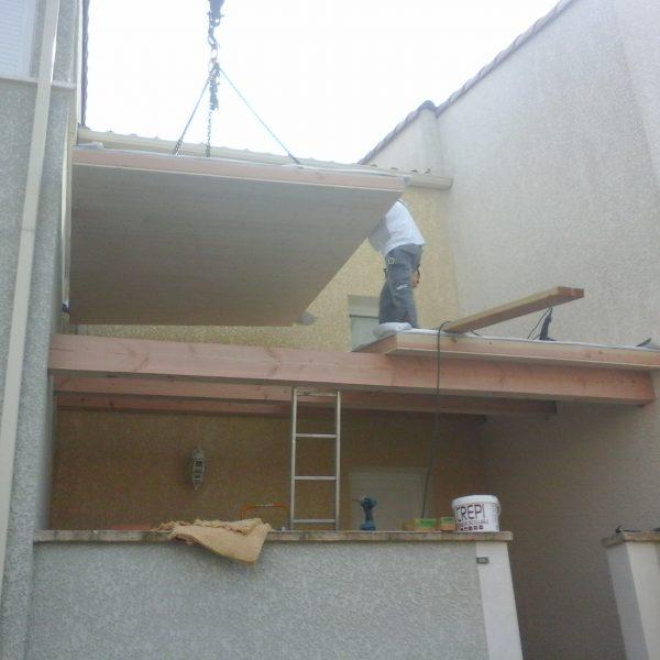 Auvent terrasse