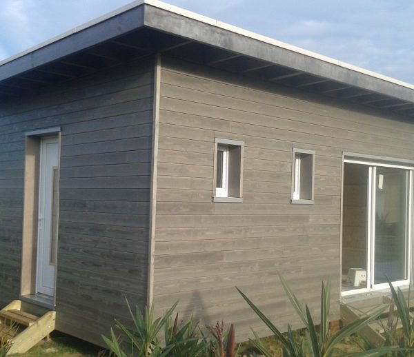 Lodge en bois