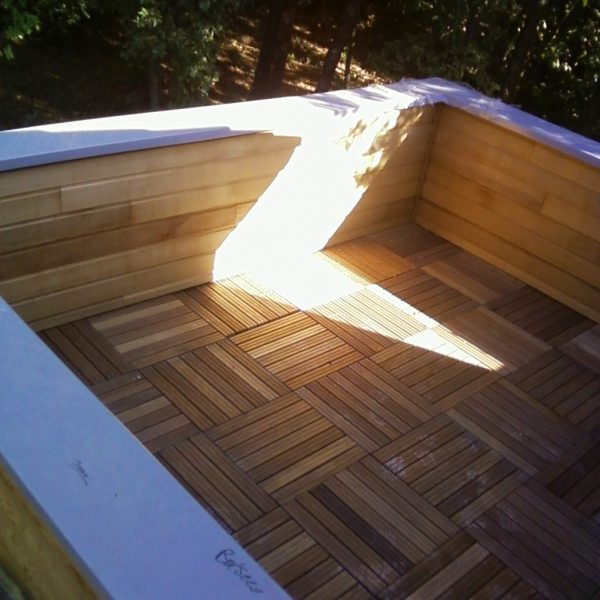 Toit terrasse accessible