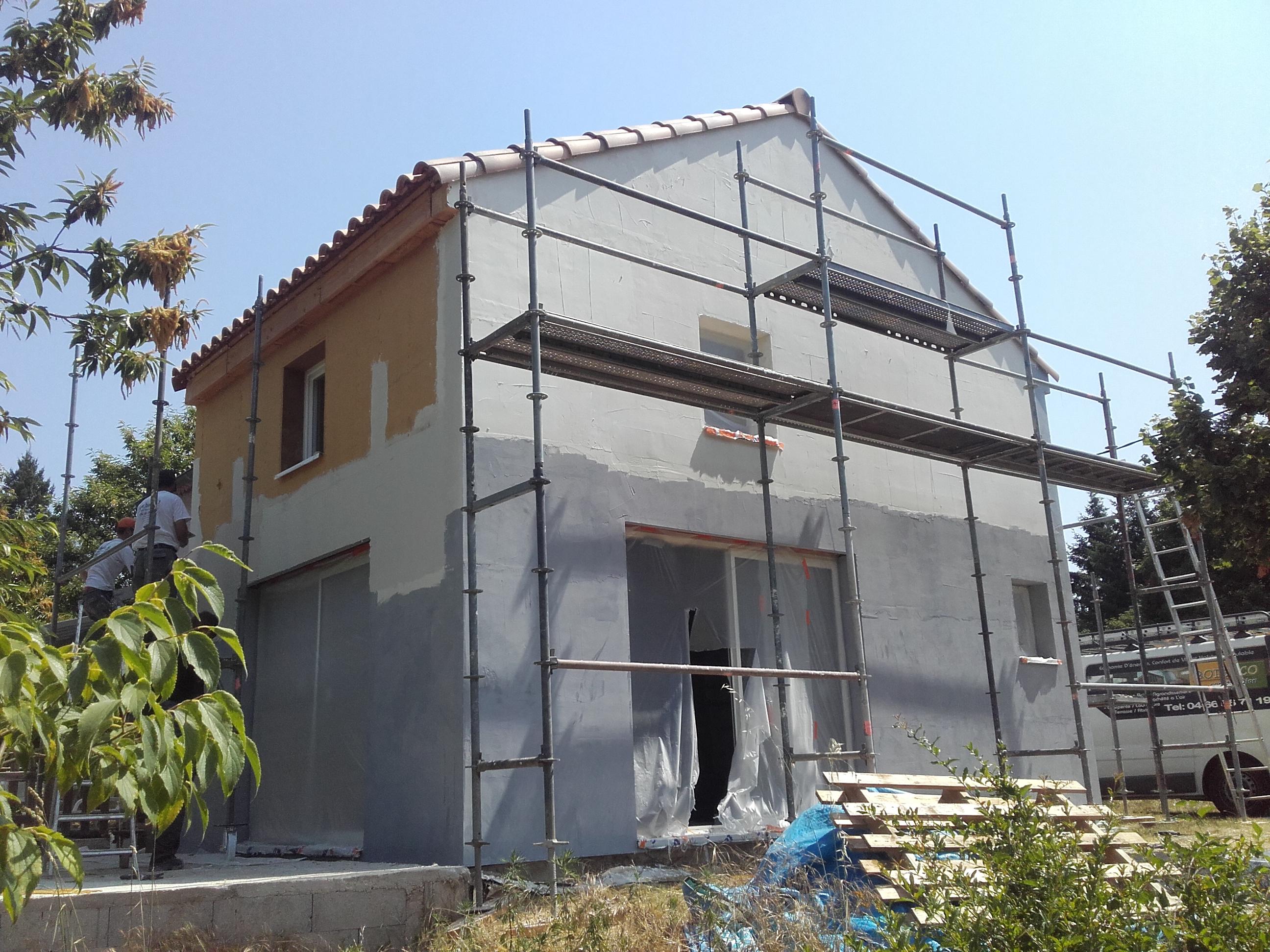 Extension ossature Bois Gard 30 BOISECO Construction u2013 Maisons a ossature bois # Maison En Bois Gard