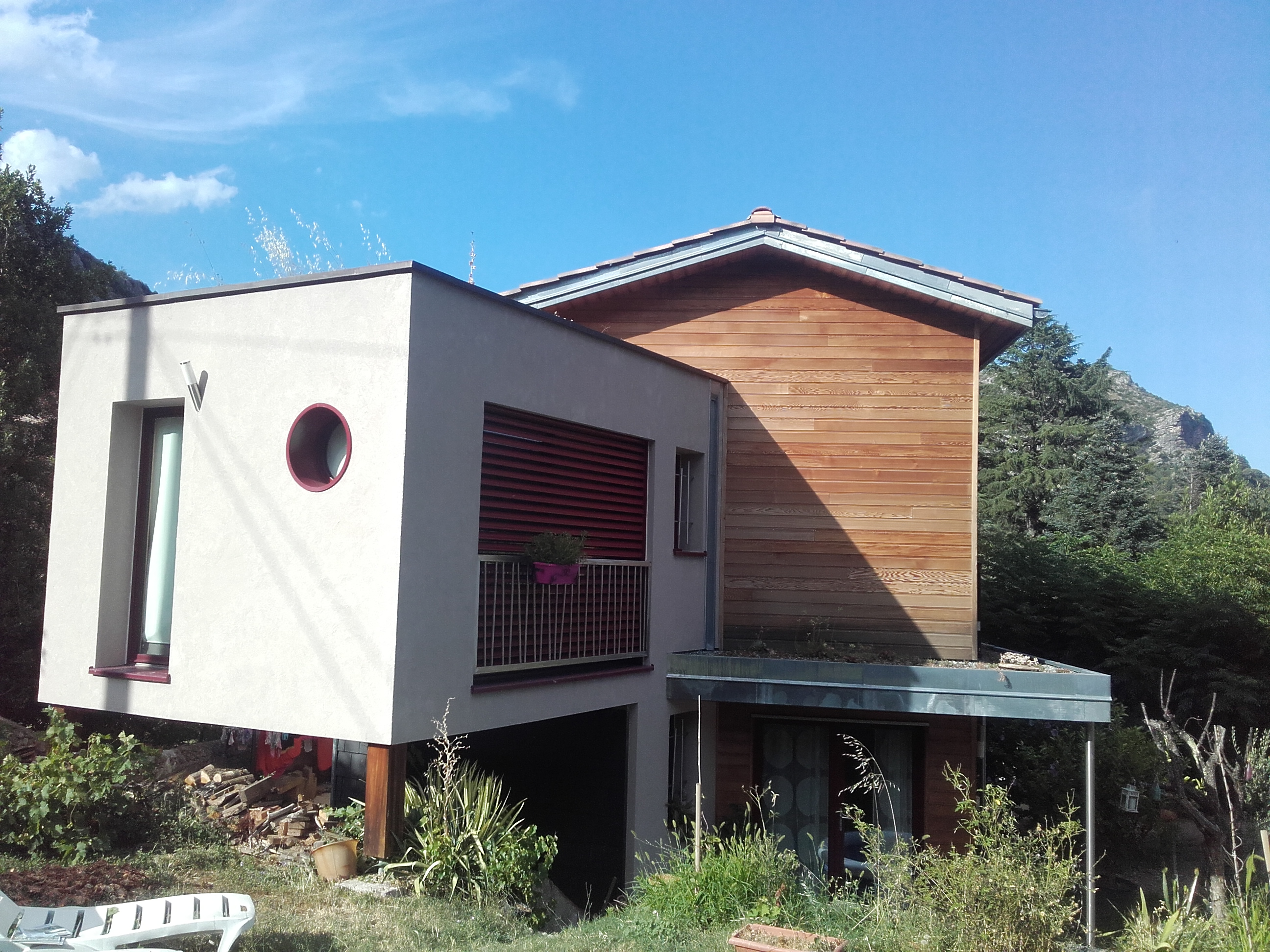 maison passive boiseco construction maisons a ossature. Black Bedroom Furniture Sets. Home Design Ideas