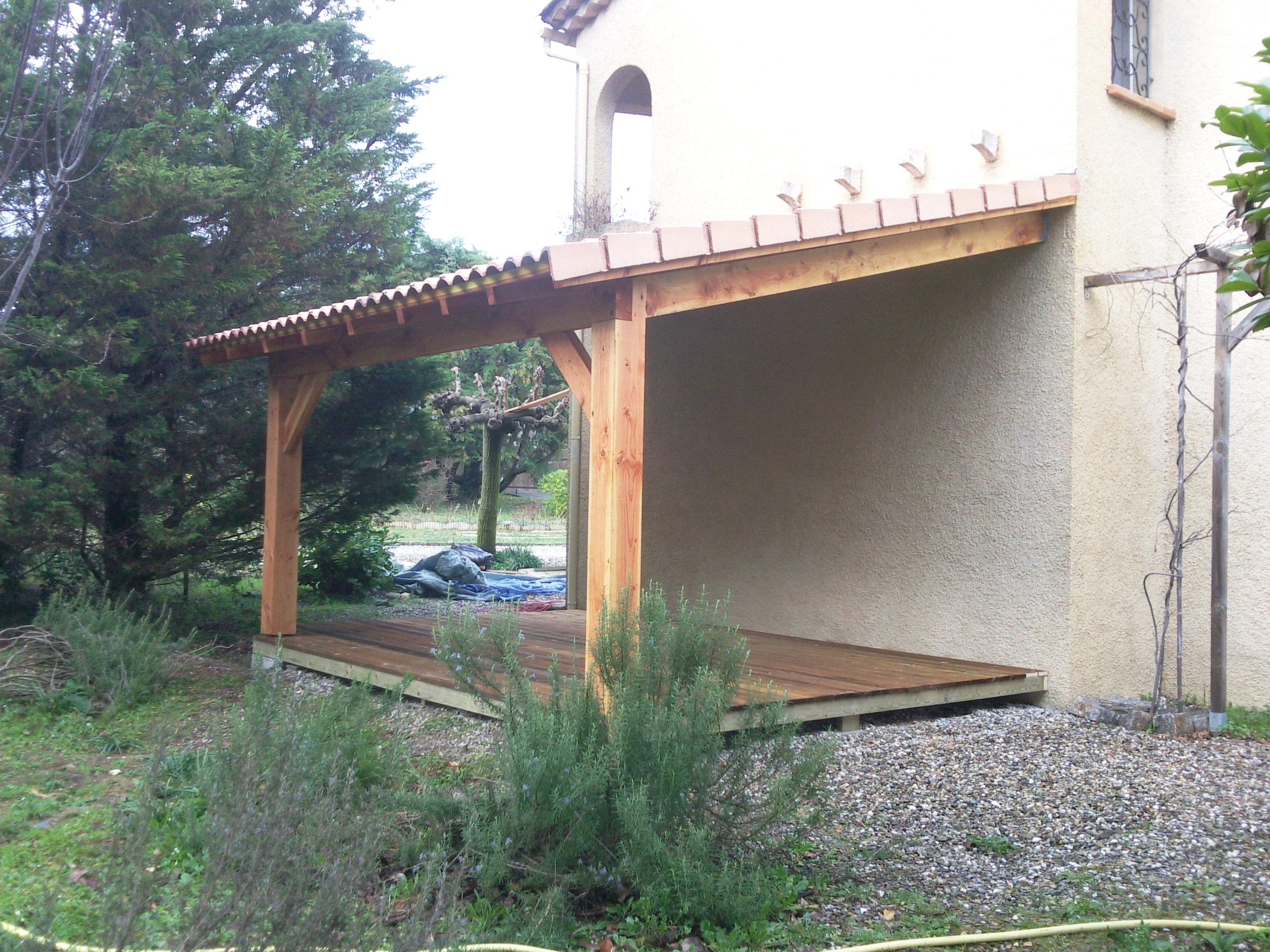 auvent terrasse | boiseco construction – maisons a ossature bois