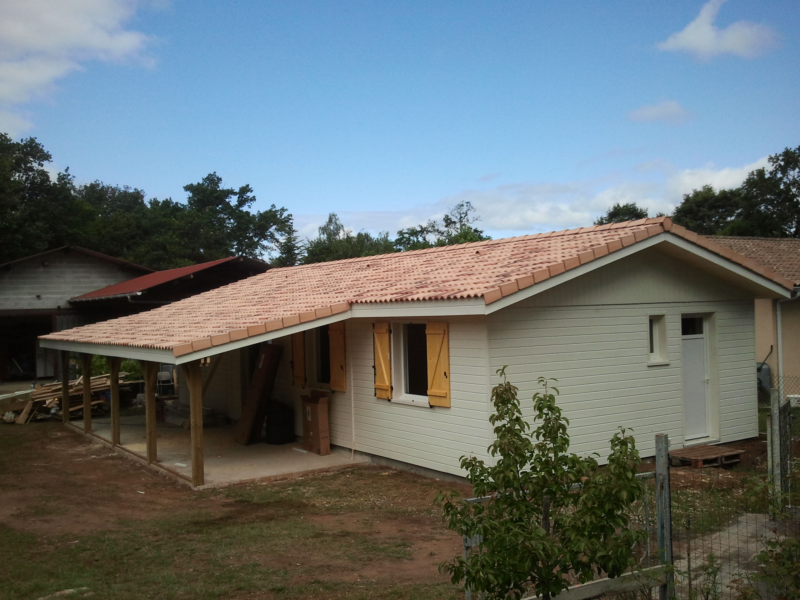 Maison ossature bois landaise boiseco construction for Maison a ossature bois