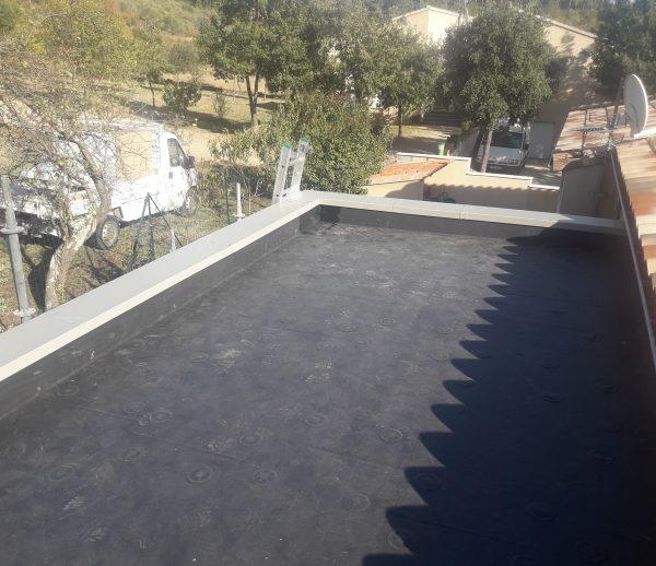 Couverture Toit terrasse Membrane EPDM Alès